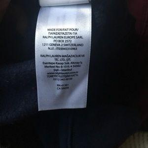Polo by Ralph Lauren Sweaters - Polo Ralph Lauren Mens Varsity Patch Sweatshirt XL